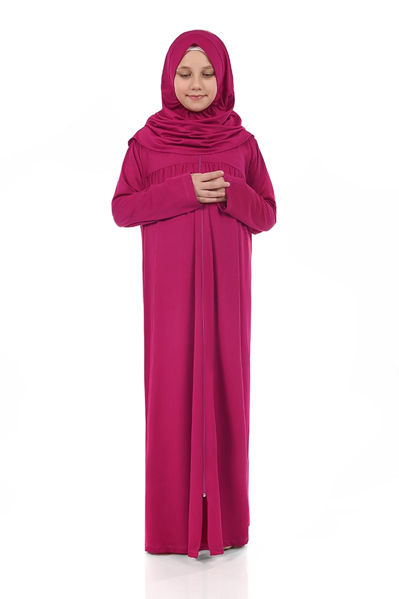 Çocuk Namaz Elbisesi Fuşya