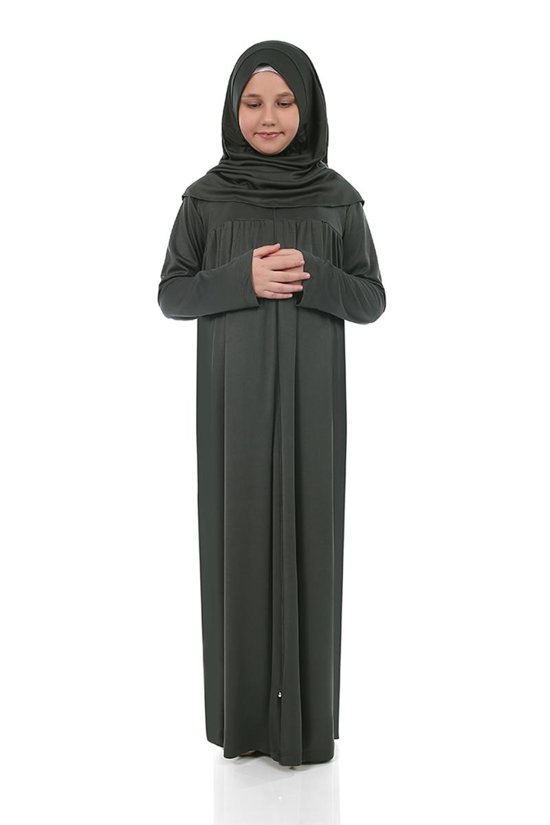 Çocuk Namaz Elbisesi Haki