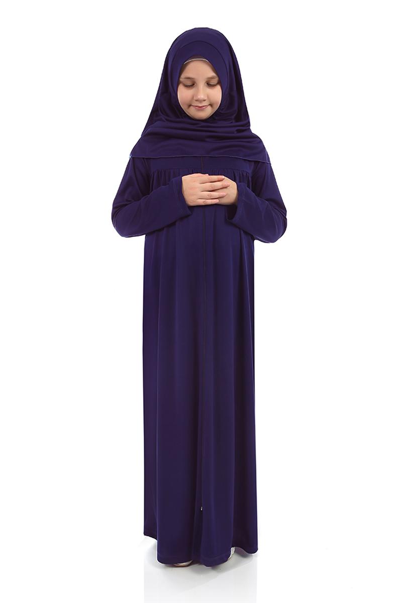 Çocuk Namaz Elbisesi Koyu Lacivert