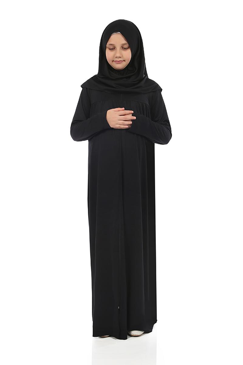 Çocuk Namaz Elbisesi Siyah