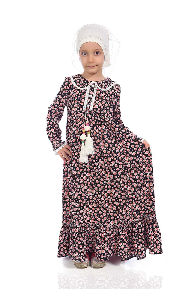 Çocuk Tesettür Zeynep Model Pudra